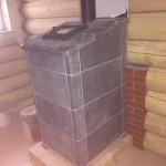 Банная печь из талькохлорида