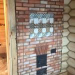 Банная печь с закрытой каменкой и миниоборотом