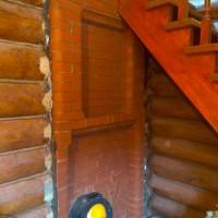 Финская банная печь IKI с порталом